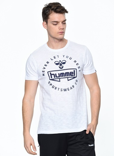 Hummel Tişört Beyaz